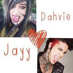 Dahvie + jayy = <3