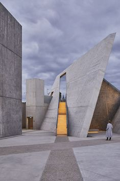 Daniel Libeskind On the Poetics of Memory and Time in Architecture,National Holocaust Monument. Image© Doublespace