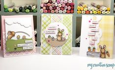 Lawn Fawn Spring Cards Class at This n That Scrapbooking