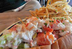Lobster Roll at The Optimist (Atlanta, GA). #UniqueEats #lobster
