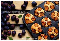 Sekrety Cookietki: Sierpniowe muffiny ze śliwką