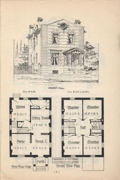 Artistic City Houses By Herbert C Chivers Architect Page 9 Of 32