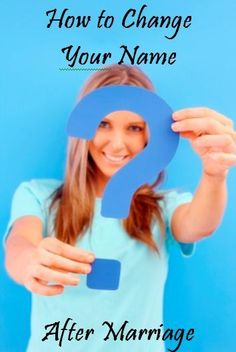 Tackling the biggest hassle of getting married. . . changing your name