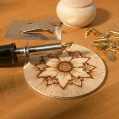 Free Wood-Burning Patterns | PYROGRAPHY IRONS: (£5, wooden blanks 20p each)