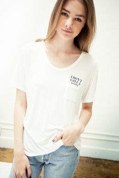 Brandy ♥ Melville | Quinn I Don't Give A Sh*t Top - Graphics
