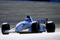 Mika Salo Juhani (FIN) (Nokia Tyrrell Yamaha), Tyrrell 023 - Yamaha OX10C 3.0 V10 (finalizó 12º)  Gran Premio del Pacífico de 1995, TI Circuito - Japón © LAT Photographic