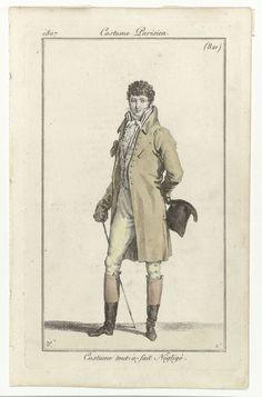 """""""Ensemble from a 1808 edition of Journal des Dames et des Modes (Rijksmuseum) """""""