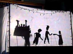 Diwali shadow puppets