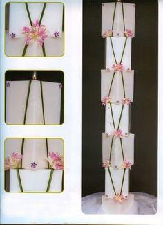 λαμπαδες γαμου ! Ο στολισμός από λαμπαδες Weeding, Ladder Decor, Floral, Home Decor, Art, Light Bulb Vase, Art Background, Grass, Decoration Home