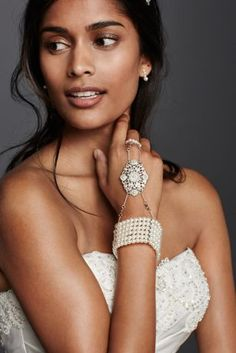 Pearl Hand Jewelry at David's Bridal