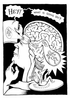 from Neurocomic - A graphic novel that takes place inside the brain
