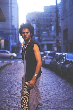 Modelo Bruno Lucas Oficina de Produção de Moda Hilda Hilst Coordenação Bruna La Serra Fotografia Giovanna Romaro
