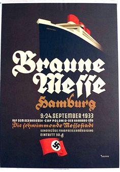 German ww2 propaganda poster