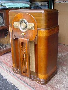 Zenith 12S471 Console Radio | eBay