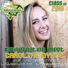 ▶ 2016 #MinerVB Recruiting Class: CAROLINE DYKES   5-9   Middle Hitter   Lawrence HS   Lawrence, Kan.