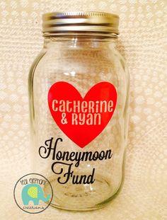 Honeymoon/Vacation/Wedding/Cruise... Money Saving Jars!