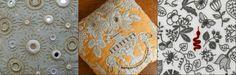 """Волшебство вышивки. Часть 6: """"живая"""" вышивка Юмико Хигучи - Ярмарка Мастеров - ручная работа, handmade"""