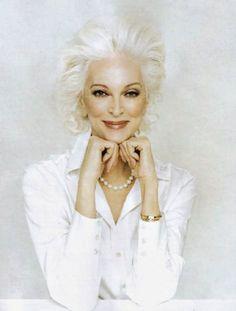Dünyanın En Yaşlı Modeli Carmen Dell'Orefice Foto Galerisi
