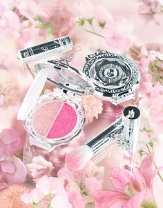 Jill Stuart's makeup is totally princessy, and I dream of owning some. My inner Victorian wants every object not only to be useful, but to be this ornate.