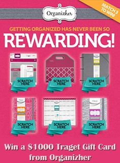 Win a $1,000 Target Gift Card from Organizher