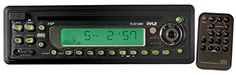 PYLE PLCD13MR AM/FM-MPX In-Dash Marine CD/MP3 Player with Full Face Detachable Panel