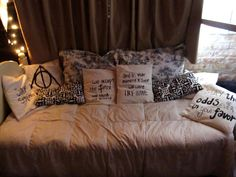 I will totally do this when I move my bed!