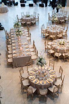 Formas impresionantes para organizar sus mesas - LinenTablecloth