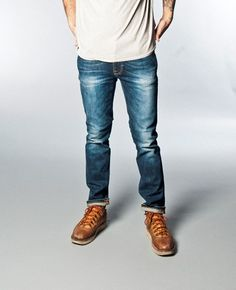Thin Finn Organic Genuine Love - Nudie Jeans Co Online Shop