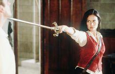 """Tia Carrere, """"Relic Hunter"""", 1999 #sword"""