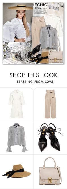 """IFCHIC"" by sneky ❤ liked on Polyvore featuring Paul & Joe Sister, A.L.C., Saloni, Dee Keller, Eugenia Kim, 10 Crosby Derek Lam, valentinesday, ifchic, worldwideshipping and embellishedsleeves"