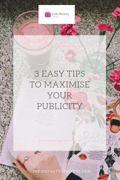 How to Maximise Your Publicity with Yvonne Radley - Indie Beauty Delivers Social Media Marketing Business, Business Entrepreneur, Business Tips, Social Share Buttons, Radley, Social Media Channels, Press Release, How To Introduce Yourself, Indie