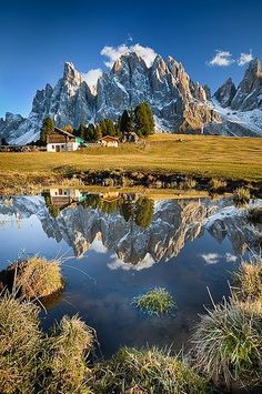 Sometimes you just need to get out in nature. Even in Italy! The Dolomites - South Tyrol, Italy. Places To Travel, Places To See, Travel Destinations, Wonderful Places, Beautiful Places, Amazing Places, Beautiful Scenery, Places Around The World, Around The Worlds