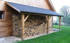 L'appenti de jardin, solution simple et légère pour abriter voiture, bois de chauffage, ... | Appentis ou auvent de jardin