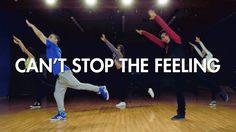 Justin Timberlake - Can't Stop the Feeling (Dance Video) | Mihran Kirako...