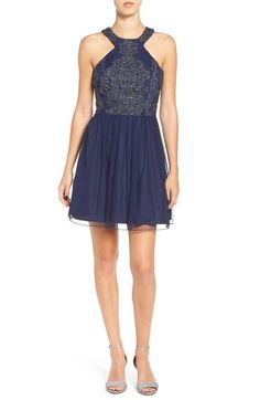 f267e7a871ec37 Speechless Embellished Skater Dress available at  Nordstrom Fit Flare  Dress