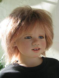 куклы из моей коллекции Annette Himstedt