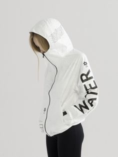 TYVEK WATER ZIP-UP HOODIE | NOT JUST A LABEL