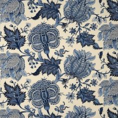 Elegant printed multi horizon blue/navy decorator fabric by Scalamandre. Item 16138-003. Big discounts and free shipping on Scalamandre fabrics. Search thousands of patterns. Strictly first quality. Width 60 inches. Swatches available.