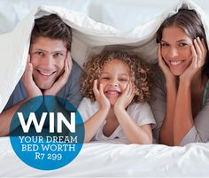 WIN your dream bed worth R7 299!