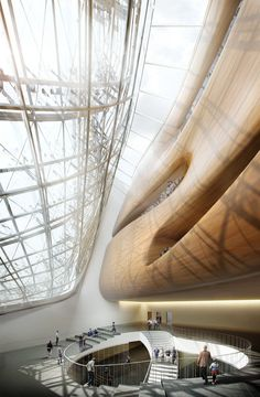Guggenheim Helsinki Design Competition on Behance Contemporary Architecture, Art And Architecture, Architecture Details, Chinese Architecture, Architecture Visualization, Architecture Student, Luxury Master Bathrooms, Master Baths, Design Competitions