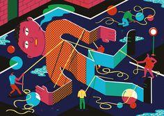 Gulliver by Brecht Vandenbroucke, 2011  My favorite discovery of the week.  Source: Brecht Vandenbroucke