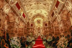 Tudo pronto só esperando a Noiva! Igreja Antiga Sé.