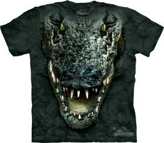 Alligator Head T-Shirt - 30% DISCOUNT ON ALL ITEMS - USE CODE: CYBER #Cybermonday #cyber #discount