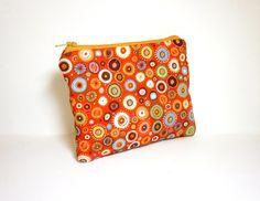 Small Zipper Pouch Small Wallet Small by handjstarcreations, $8.50