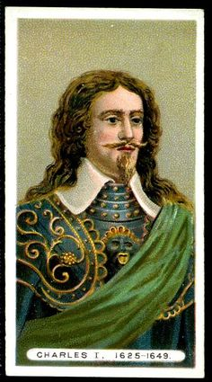 Wills's Kings & Queens - King Charles I Tudor Monarchs, English Monarchs, Vintage Photographs, Vintage Images, Adele, Royal Tea, London History, Mary Queen Of Scots, Queen Of England