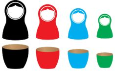 Free Image on Pixabay - Nesting Dolls, Matryoshka, Nesting Make Meaning, Ourselves Topic, Straight Hairstyles, Let It Be, Media Images, Definitions, Choices, Organize, Clever