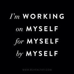 I am a constant work in progress...I am in no way perfect. I embrace my imperfections and love myself completely as I am. I am me.Growing, learning, choosing to live a life of love...Looking for the best in others..Not judging others because they are different. We are all one.