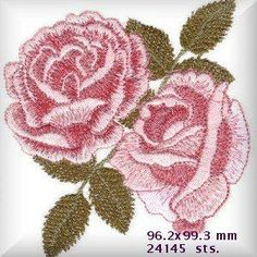OregonPatchWorks.com - Sets - Roses For Mom
