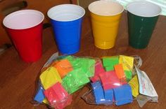 Learning colors {Table Time Fun} #preschool - Re-pinned by #PediaStaff.  Visit http://ht.ly/63sNt for all our pediatric therapy pins