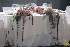 Decoración presidencia boda Mayula flores